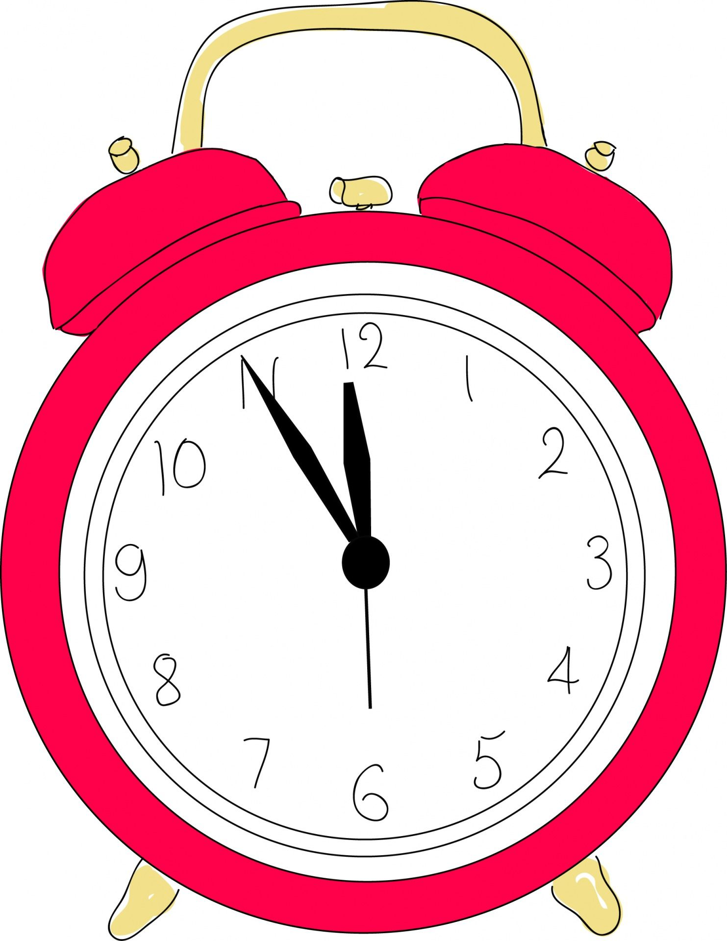 clipart black and white stock Alarm clipart. Clock clip art .