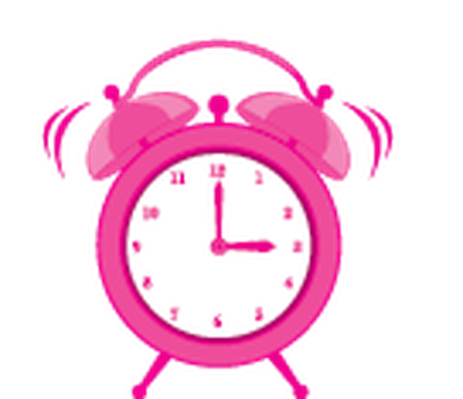 jpg library library Cute clock the arts. Alarm clipart.