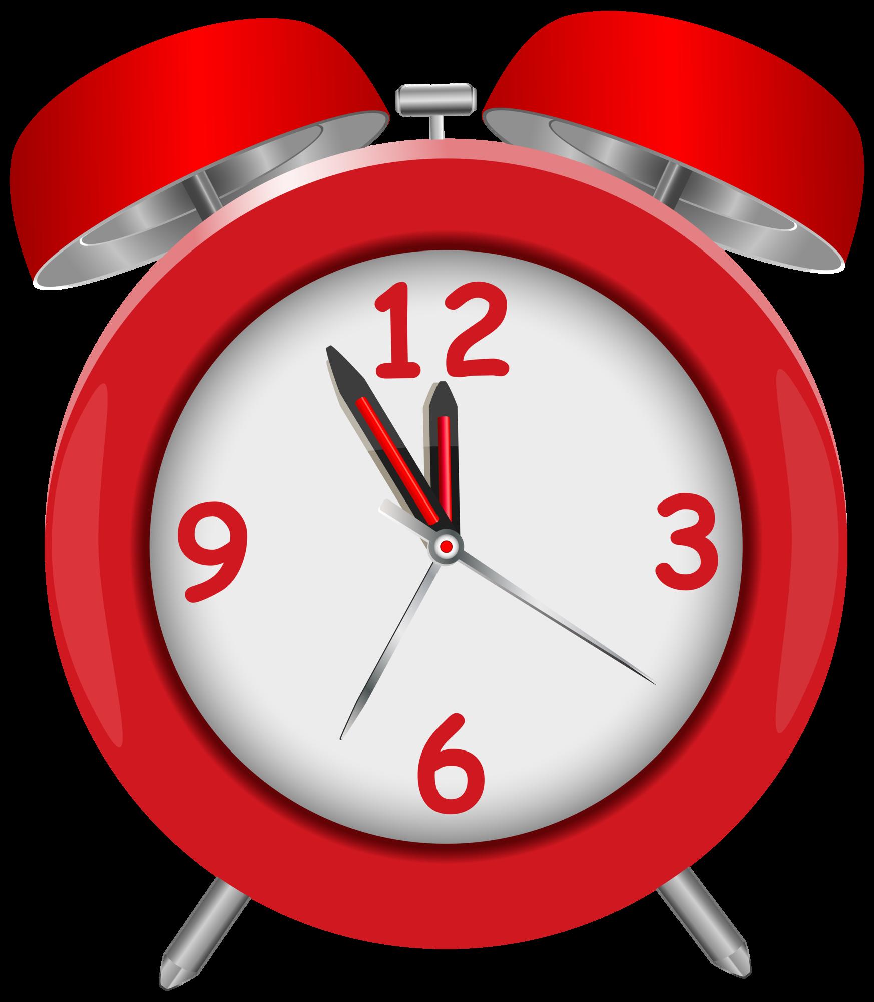 clip art transparent library Red clock png clip. Alarm clipart