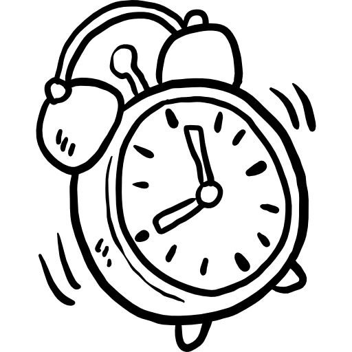 jpg free alarm clock Icon