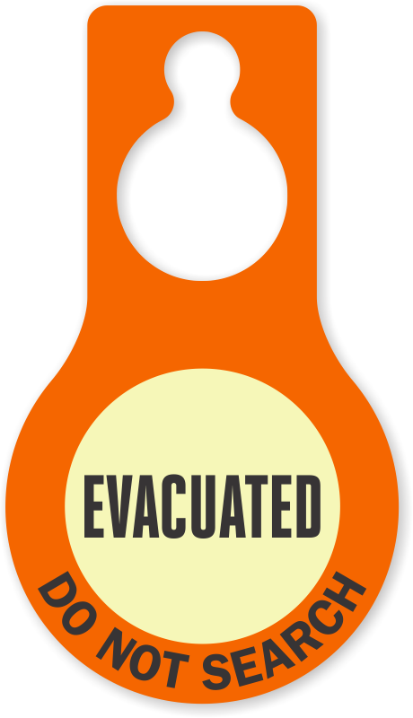 clip black and white download Collection of free Evacuating clipart evacuation area