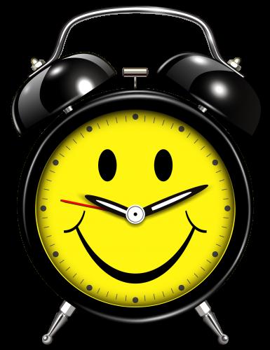 png Smiling Alarm Clock PNG Clip Art