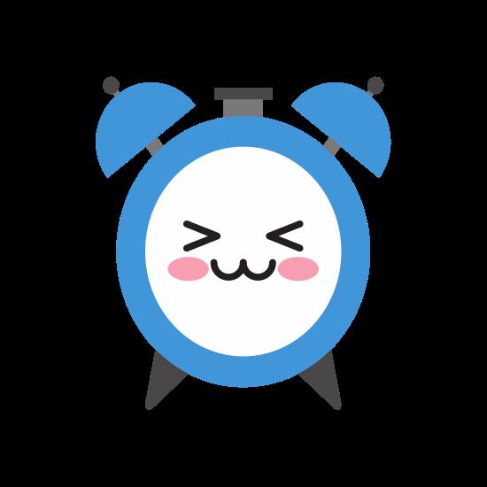 jpg Alarm Clock Kawaii Character