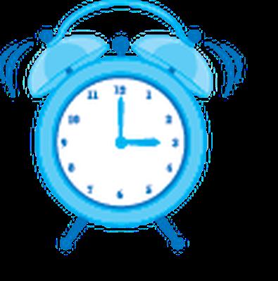 vector freeuse stock Metal Classic Style Alarm Clock
