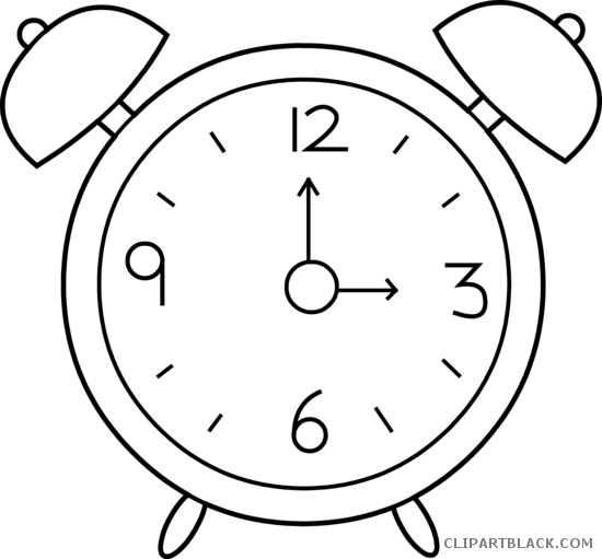 clipart freeuse library Alarm Clock Clipart