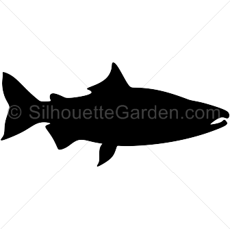 jpg royalty free stock Alaska clipart salmon fish. Pin ni muse printables.