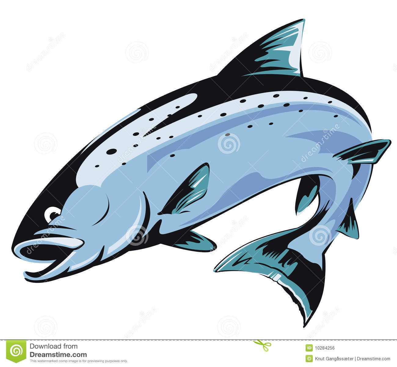 svg transparent King transparent . Alaska clipart salmon fish.