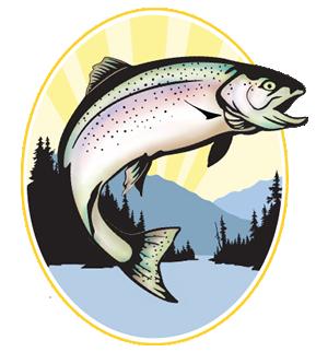 clipart Steelhead free on dumielauxepices. Alaska clipart salmon fish.