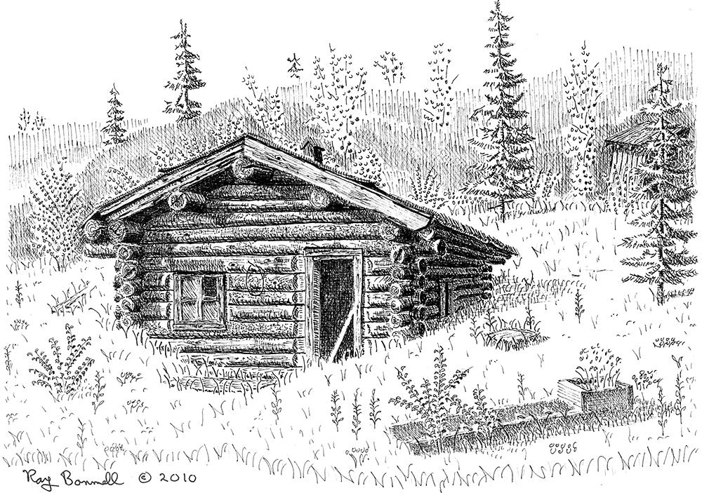 было, деревенский дом без гвоздей рисунок здорово иметь