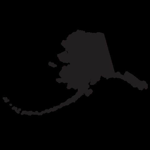 svg free library Alaska clipart state line. Clip art map panda.