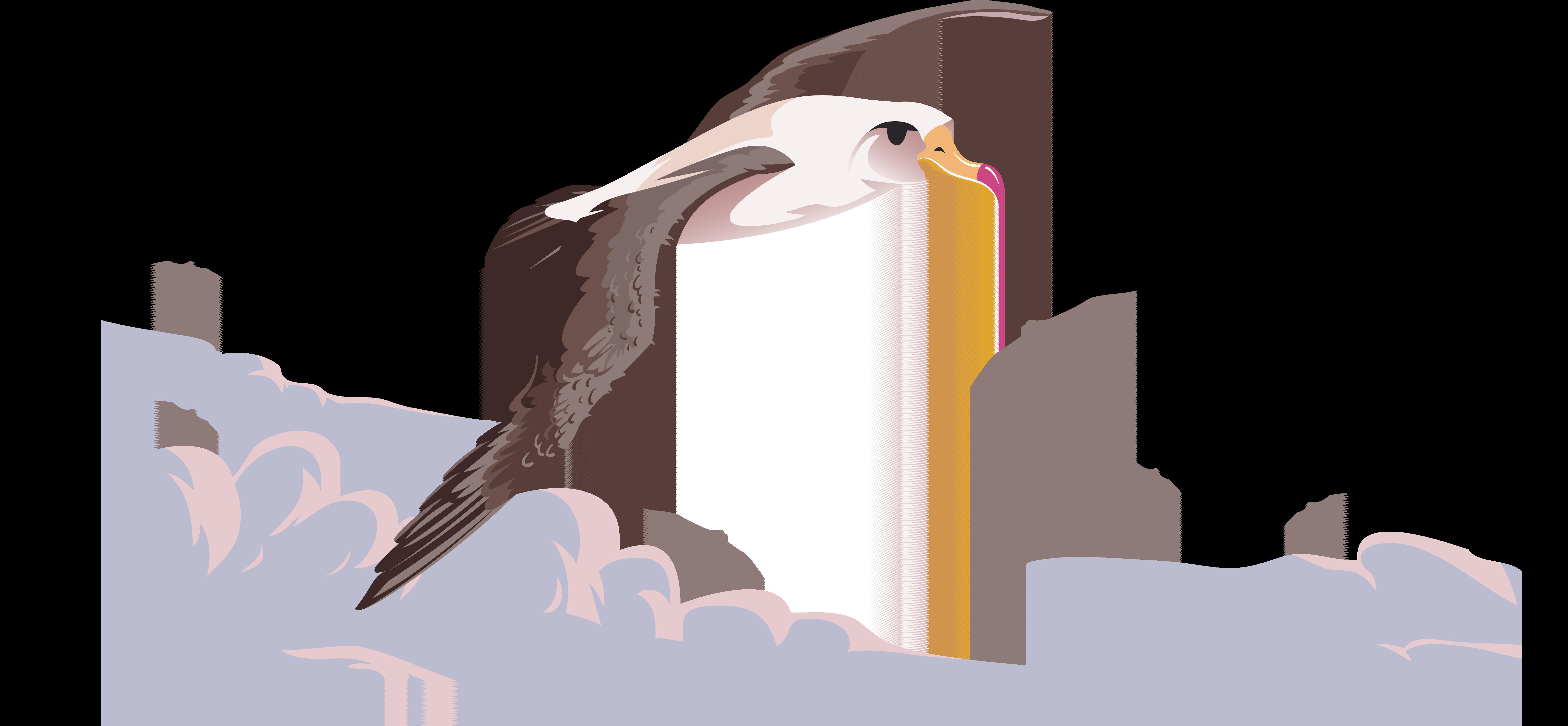 clipart free library Bird Flight Beak Albatross