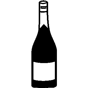 clip art Free liquor cliparts download. Champagne bottle clipart black and white