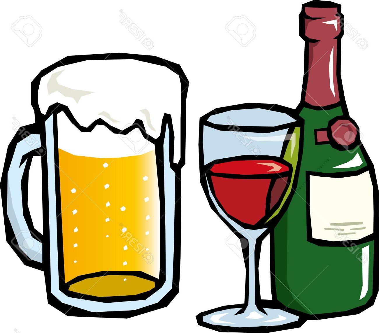 image transparent library Beer transparent free for. Alcohol clipart.