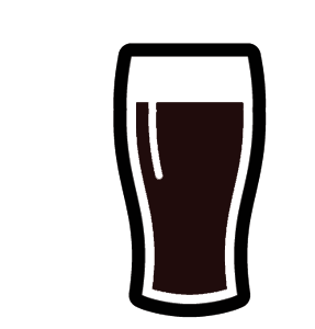 vector library library Pint beer free on. Alcohol clipart clip art