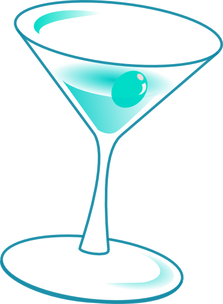 image With drink clip art. Vector glass cocktail