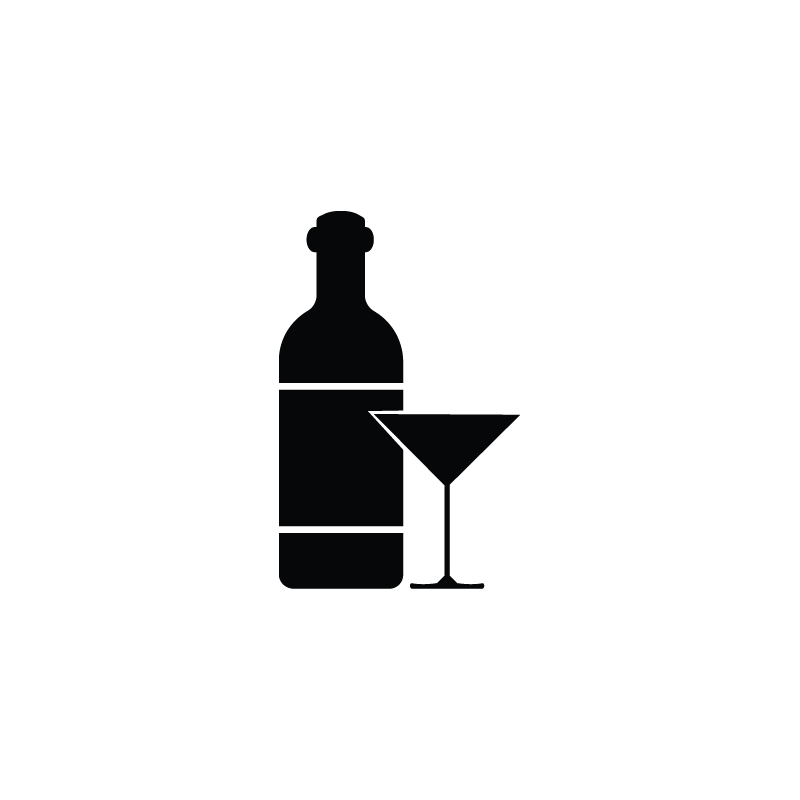 picture library library Vector bottle silhouette. Vodka beer party wine