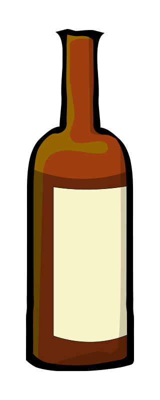vector free stock Collection of free boozed. Cocktail drawing alcohol bottle