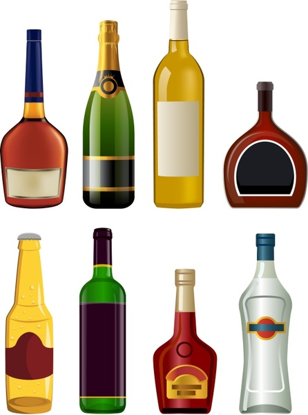 svg Vector bottle liquor. Bottles free in adobe