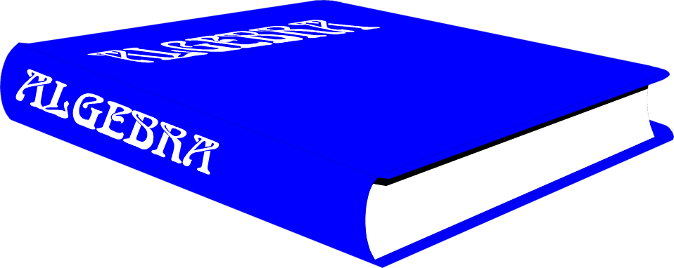 jpg freeuse library algebra book clipart #56627467