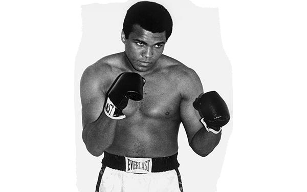 transparent library Muhammad Ali