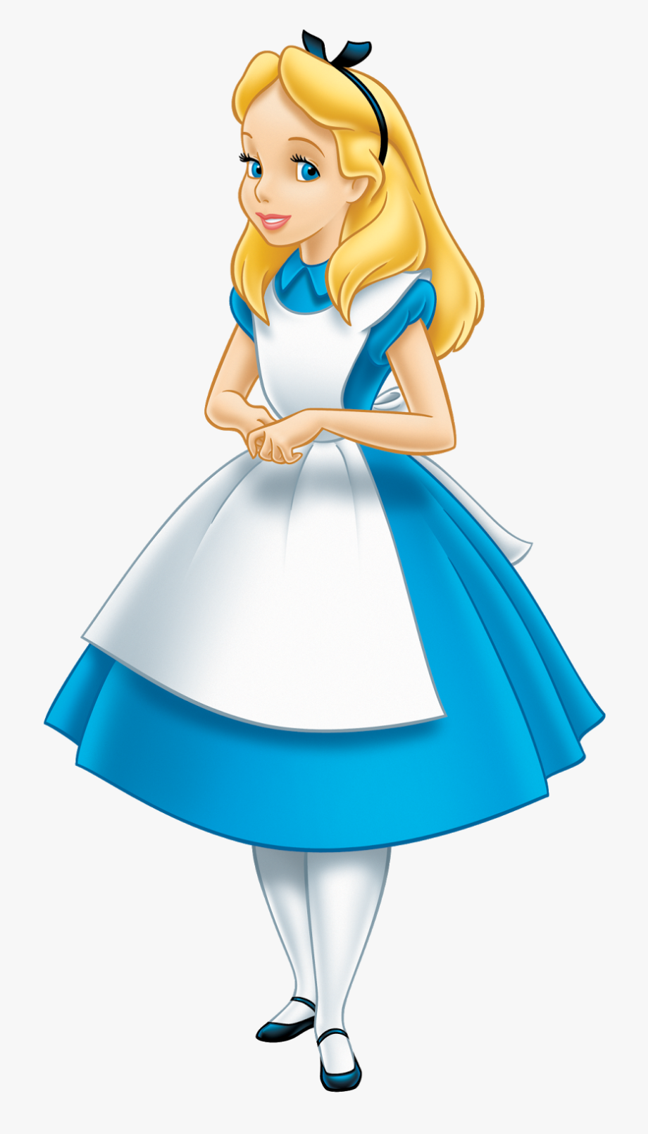 png free Clip art cartoon . Alice in wonderland clipart.