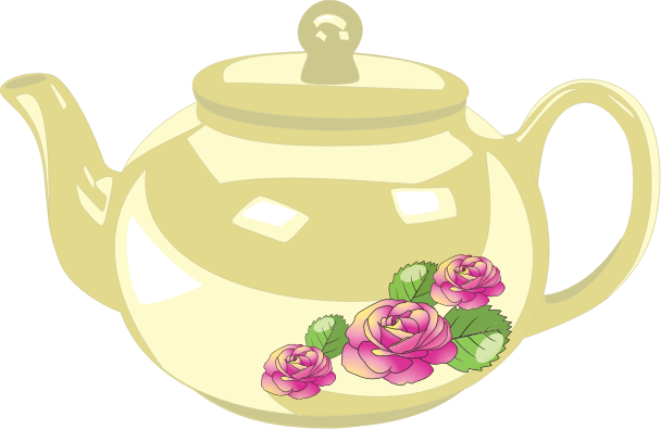 banner freeuse library Alice In Wonderland Clipart tea cup