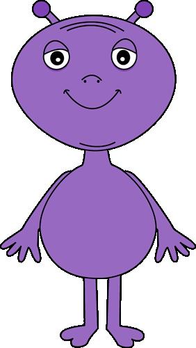 jpg transparent download Alien clipart. Purple clip art images