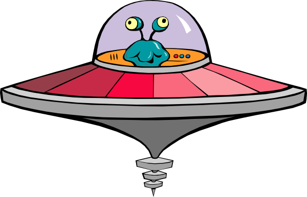 svg freeuse library Ufo Clipart alien ship