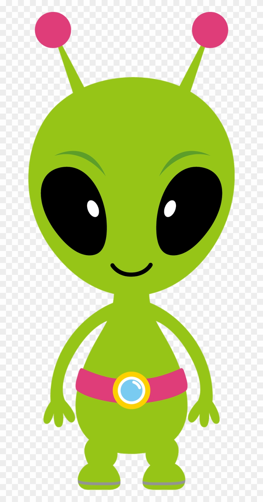 clip black and white Background alien of png. Aliens clipart