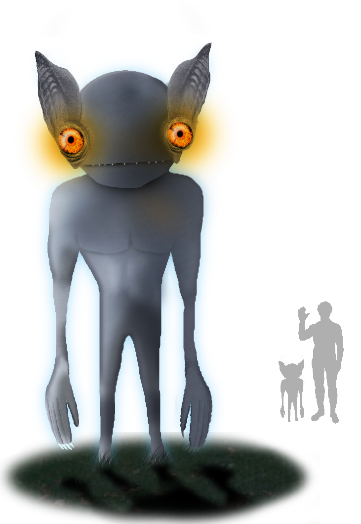banner transparent Aliens clipart goblin. Kelly hopkinsville encounter wikipedia