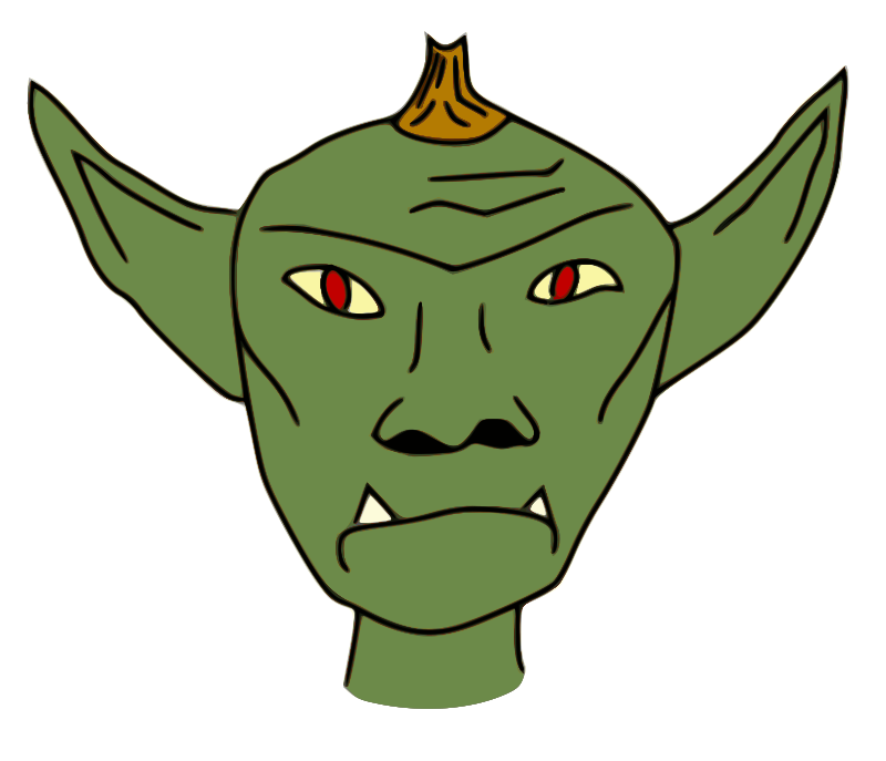 banner royalty free library Free page of to. Aliens clipart goblin
