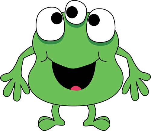 clip free library Aliens clipart three eyed. Green monster applique pinterest