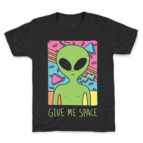 svg library stock Drawing shirts kid. Alien t lookhuman give