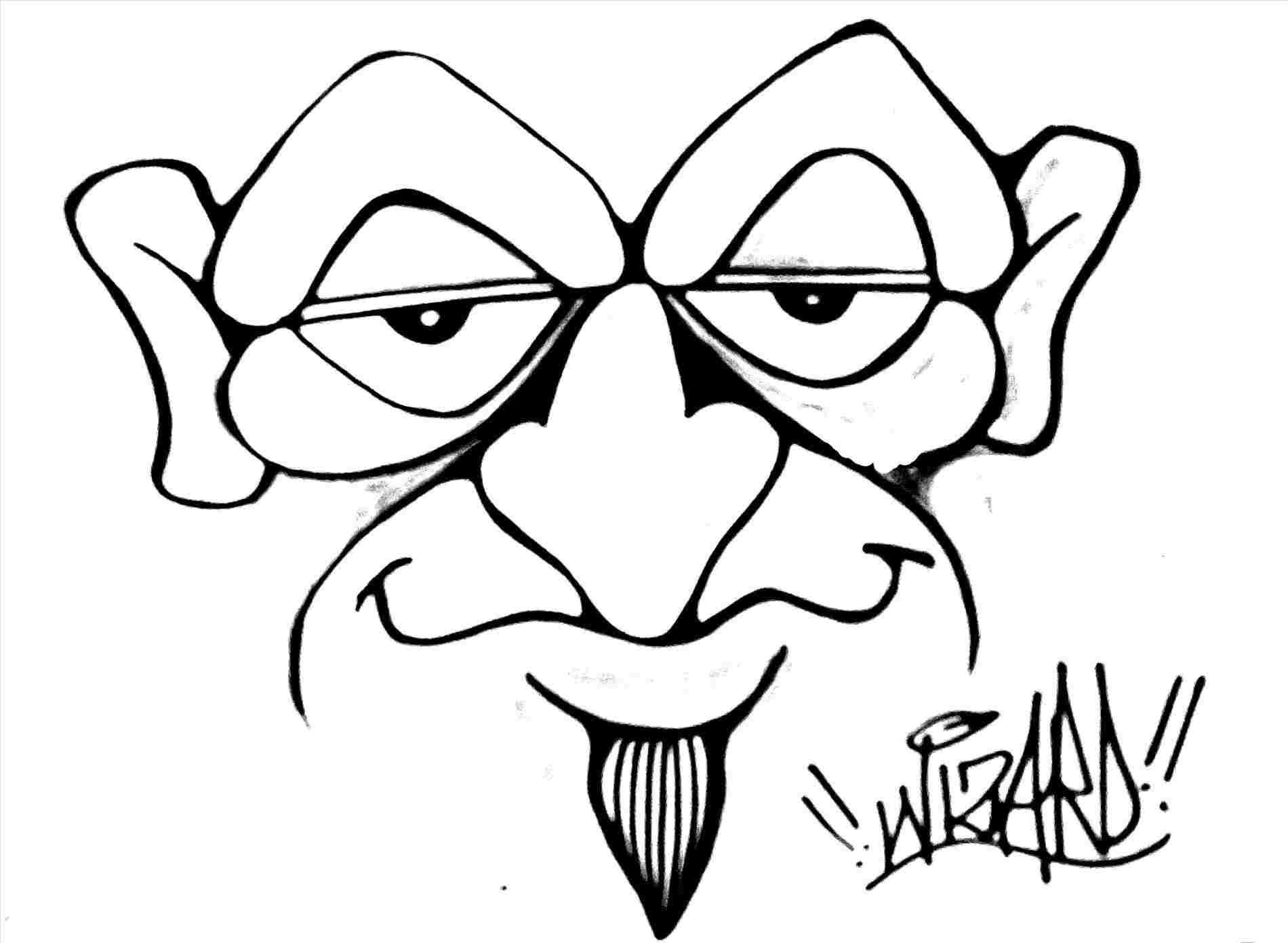 vector library stock Graffiti drawings for beginners. All drawing beginner.