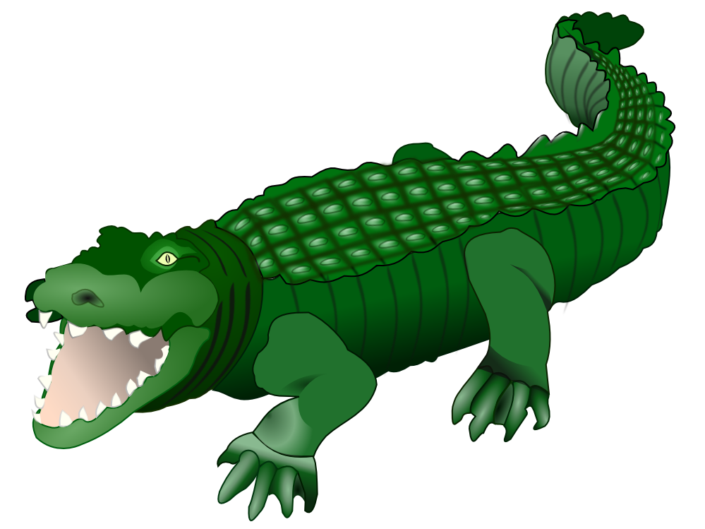 banner black and white stock Caiman free on dumielauxepices. Alligator clipart