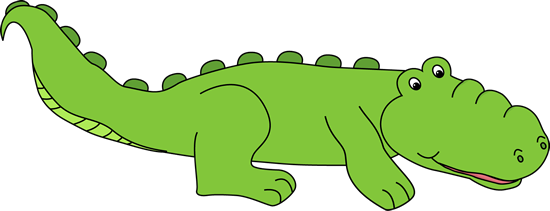 vector transparent stock Alligator Clipart