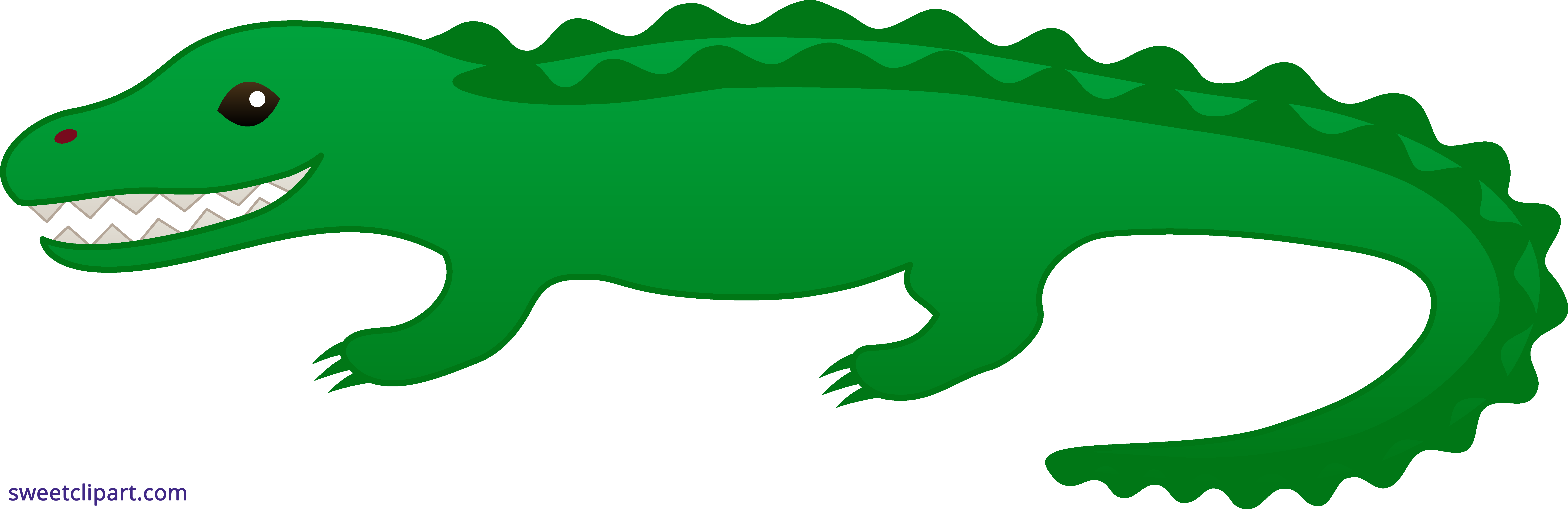 png library download Alligator clipart. Sweet clip art
