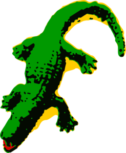 svg free Free animated alligators clipartcow. Alligator clipart cartoon.