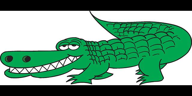 jpg download mc clip alligator #99517586