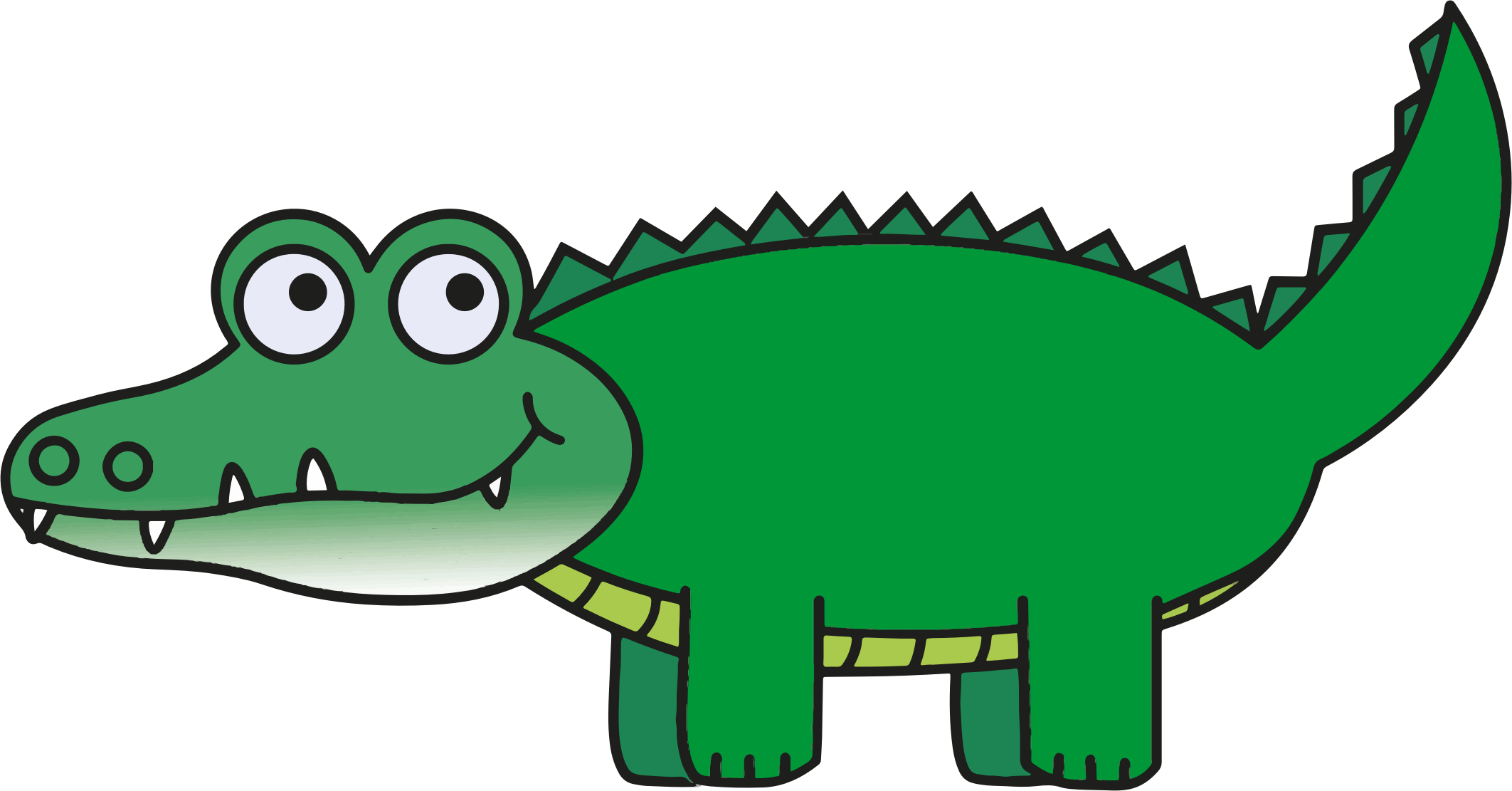 clipart library stock Alligator clipart. Free on dumielauxepices net
