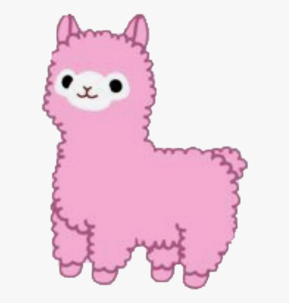 picture royalty free download Llama picsart png free. Kawaii clipart alpaca