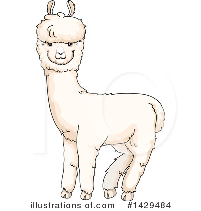 banner royalty free stock Illustration by bnp design. Alpaca clipart