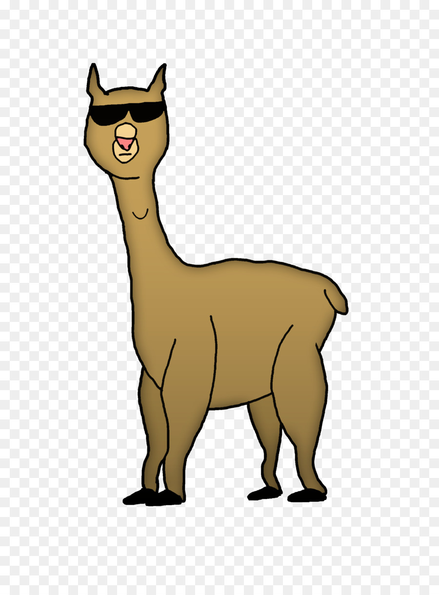 banner free download Alpaca clipart animated. Transparent free .