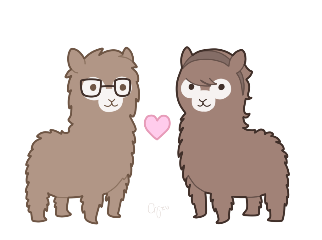 clipart Cute Alpaca Drawing at GetDrawings