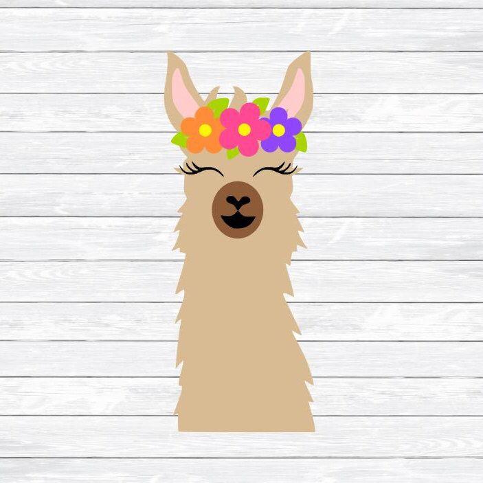 png library Alpaca clipart face. Llama svg head mama.