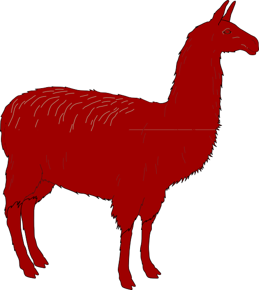 vector transparent download Llama Clip Art at Clker