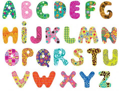 graphic download Printable applique letters letter. Alphabet clipart
