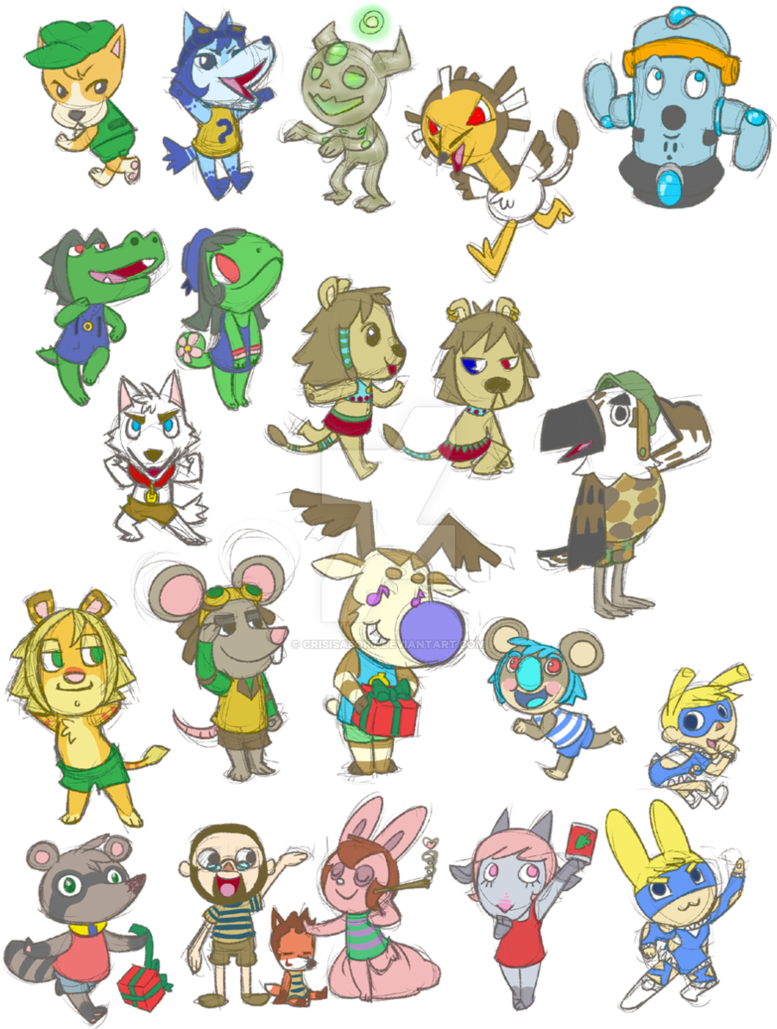 clipart library stock Animal Crossing Drawing at GetDrawings