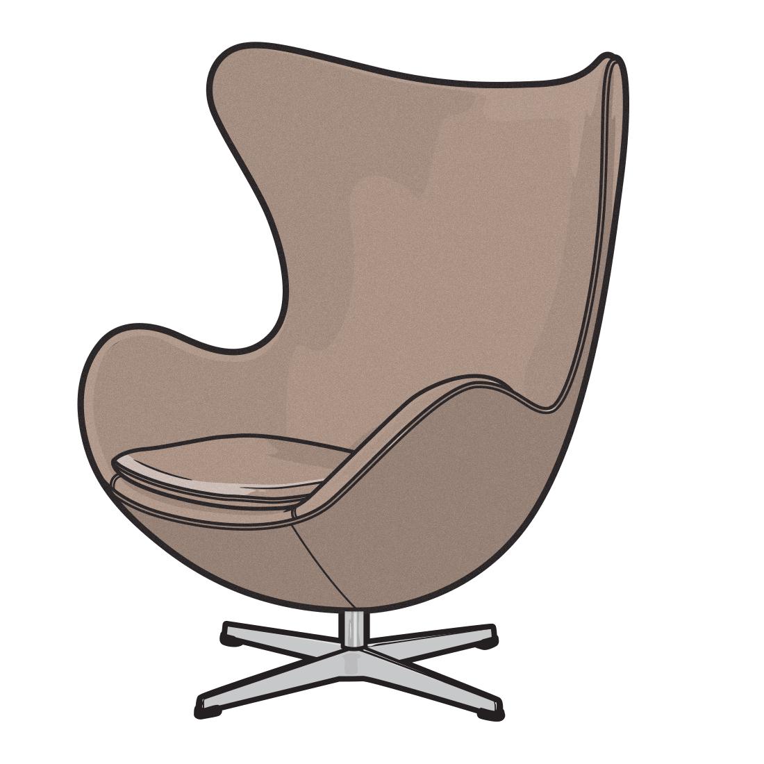 vector royalty free download Furniture illustration