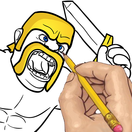 clip freeuse download How to draw clash. Amazon drawing barbarian